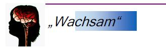 "Selbsthilfegruppe ""Wachsam"""
